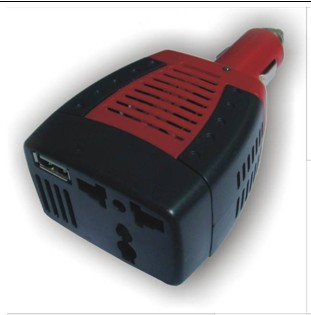 NEW Automotive Inverter USB 75W DC 12V to AC 220V Power