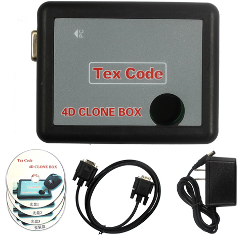 4D EH2 COPY Adapter clone box for Clone King or AD 900