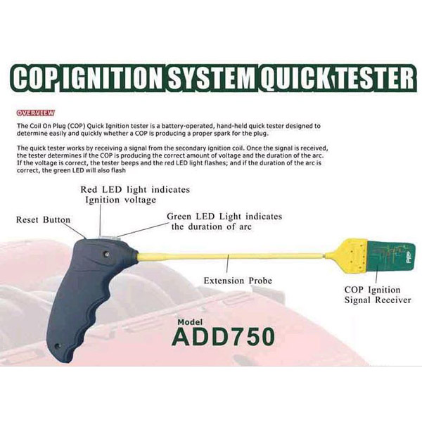 ADD750 COP Ignition Quickly Tester