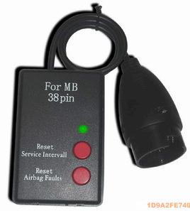 Service light airbag reset SI-Reset for MB 38pin