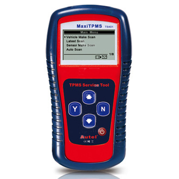 MaxiTPMS® TS401 Service Tool and TPMS Diagnostic