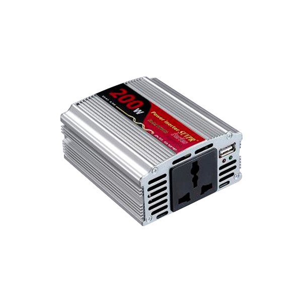 200W USB Car Inverter DC 12V to AC 110V