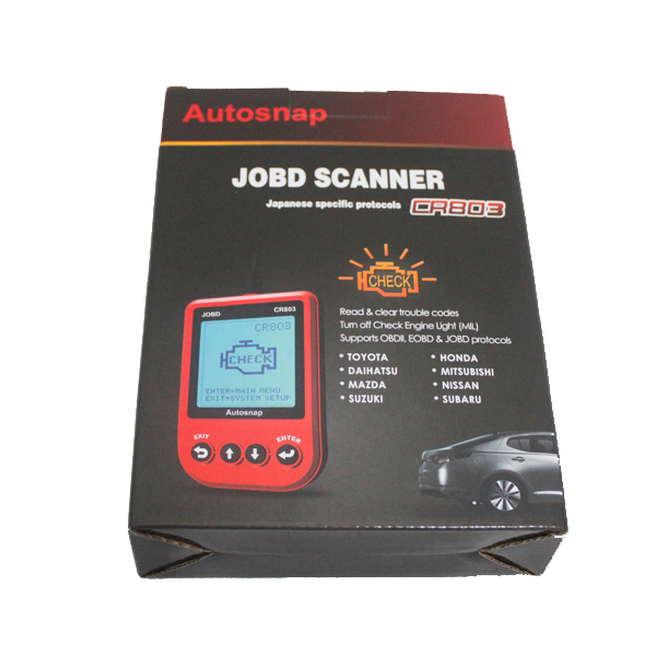 CR803 JOBD Scanner RED