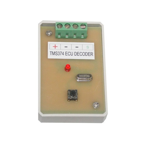Decoder TMS374 ECU