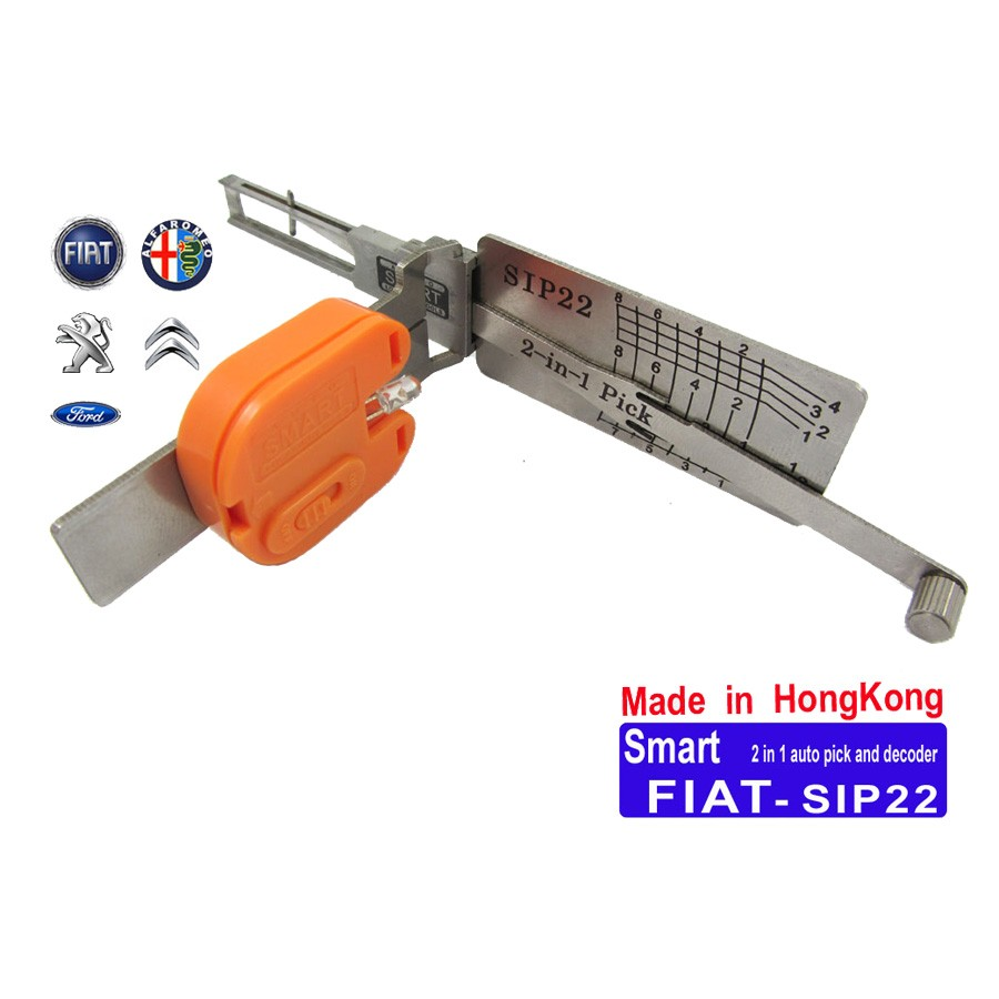 Fiat SIP22 2 in 1 Auto Lock and Decoder