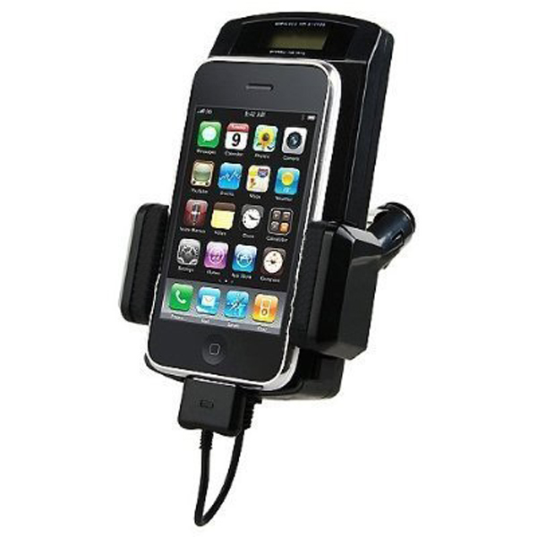 iPhone 4S 4 4G 3GS 3G 2G iPod Touch FM Transmitter+Car Charger+Remote