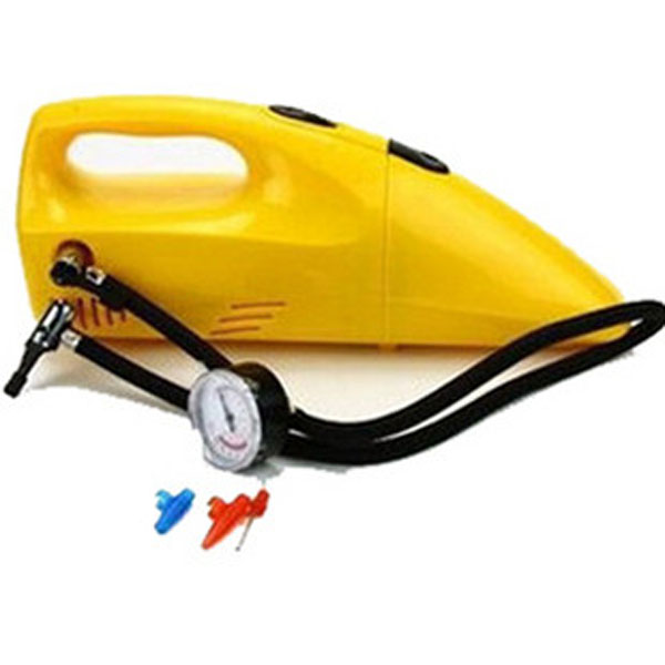 DC12V 60W Portable Wet & Dry Inflatable Vacuum cleaner for car