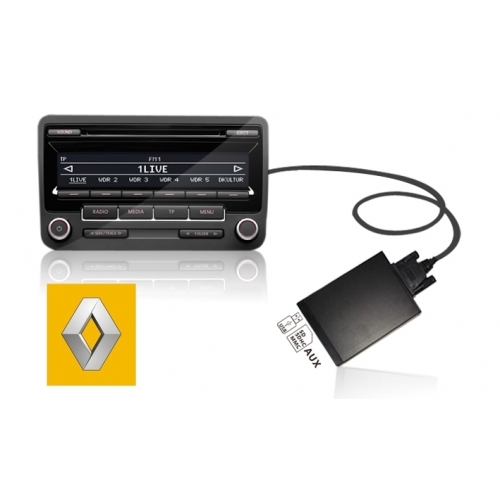 Renault USB+SD MP3 Adapter