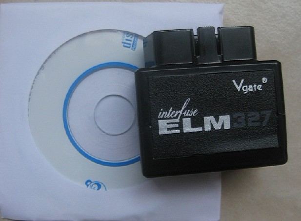 2012 New arrival MINI ELM 327 bluetooth, ELM327 wireless, ELM processor, OBD II scanner, code reader interface,ELM327
