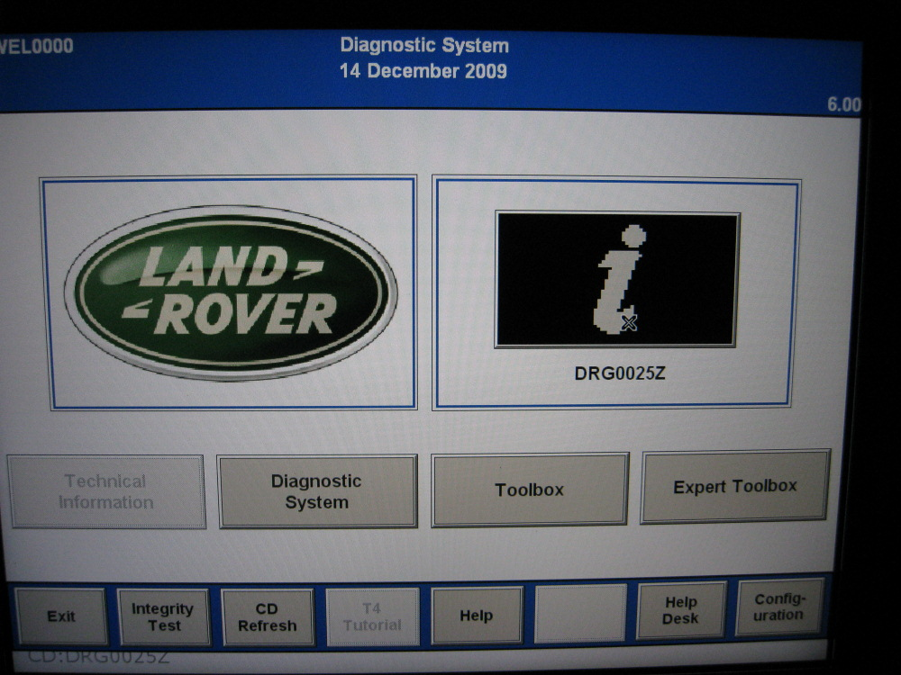 Land Rovers T4 Mobile Plus Diagnostic System