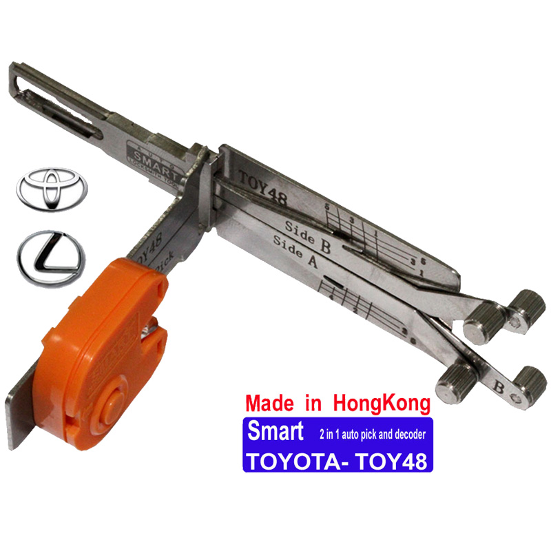 Smart TOYOTA TOY48 2 in 1 Auto Pick and Decoder