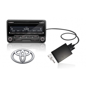 Toyota USB+SD MP3 Adapter(2x6Pin)