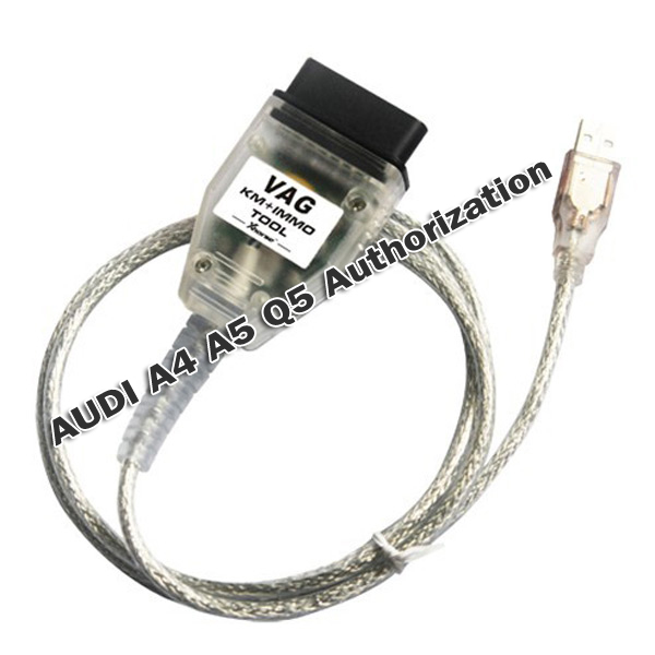 AUDI A4 A5 Q5 Authorization for VAG KM IMMO TOOL and Micronas OBD TOOL (CDC32XX)