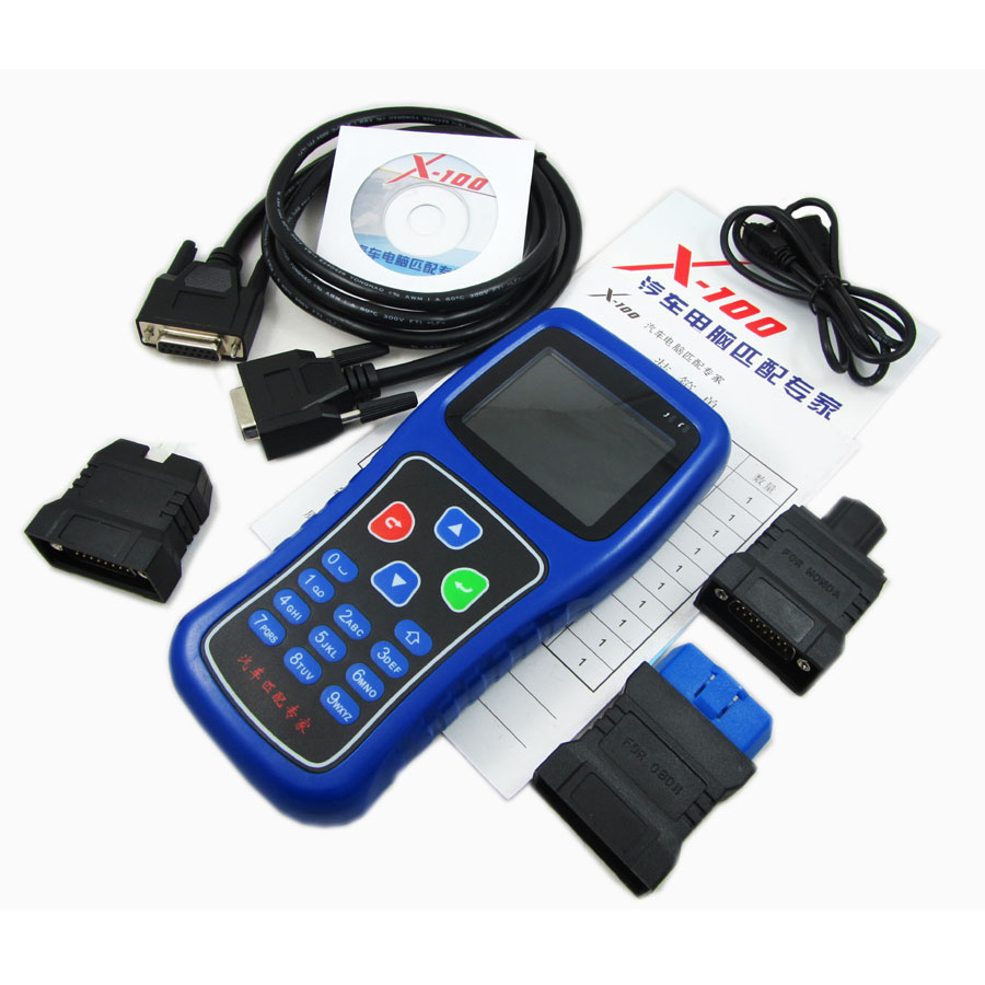 X-100 Auto Key Programmer X100(English version)